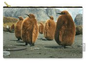 King Penguin Chicks Carry-all Pouch