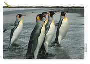 King Penguins Coming Ashore Carry-all Pouch