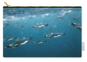 King Penguins Swimming Underwater Carry-all Pouch