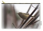 King - Ruby Crowned Kinglet - Bird Carry-all Pouch
