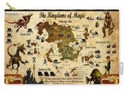 Kingdoms Of Magic Battle Map Carry-all Pouch