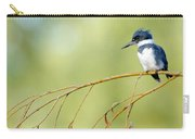 Kingfisher On A Willow Carry-all Pouch