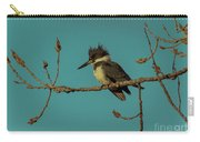 Kingfisher On Limb Carry-all Pouch