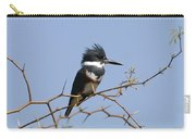 Kingfisher On Mesquite Tree Carry-all Pouch