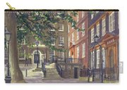 Kings Bench Walk, Inner Temple Oil On Canvas Carry-all Pouch