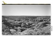 Kings Canyon Black And White Carry-all Pouch