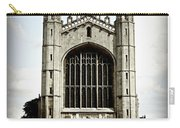 King's College Chapel - Poster Carry-all Pouch