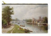 Kingston On Thames Carry-all Pouch by Robert Finlay McIntyre