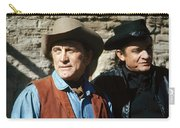 Kirk Douglas Johnny Cash A Gunfight  Old Tucson Arizona 1971 Carry-all Pouch