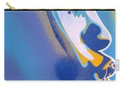 Kiss Series Blues And Yellows Carry-all Pouch