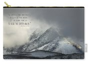 Kiss The Earth Again Carry-all Pouch