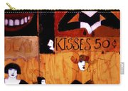 Kisses  - 50 Cents Carry-all Pouch