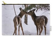 Kissing Deer Carry-all Pouch