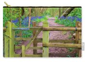 Kissing Gate Painting. Carry-all Pouch