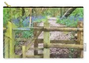 Kissing Gate Watercolour Carry-all Pouch