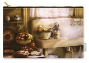 Kitchen - A 1930's Kitchen  Carry-all Pouch by Mike Savad