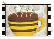 Kitchen Cuisine Hot Cuppa No14 By Romi And Megan Carry-all Pouch