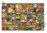 Kitchen Cupboard Carry-all Pouch by Colin Thompson