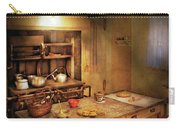 Kitchen - Granny's Stove Carry-all Pouch by Mike Savad