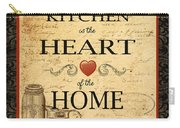 Kitchen Is The Heart Carry-all Pouch