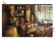 Kitchen - Nothing Like Home Cooking Carry-all Pouch by Mike Savad
