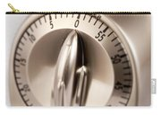 Kitchen Timer Carry-all Pouch by Iris Richardson