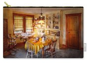 Kitchen - Typical Farm Kitchen  Carry-all Pouch by Mike Savad
