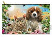 Kitten And Puppy Carry-all Pouch
