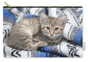 Kitten In The Blanket Carry-all Pouch