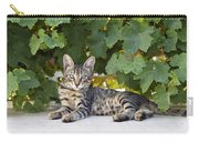 Kitten In The Garden Carry-all Pouch
