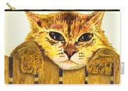 Kitten On Fence Carry-all Pouch