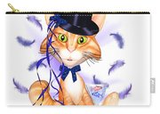 Kitticat Party Design Carry-all Pouch by Renate Janssen