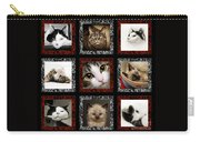 Kitty Cat Tic Tac Toe Carry-all Pouch