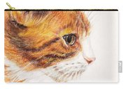 Kitty Kat Iphone Cases Smart Phones Cells And Mobile Cases Carole Spandau Cbs Art 338 Carry-all Pouch