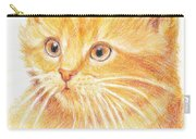 Kitty Kat Iphone Cases Smart Phones Cells And Mobile Cases Carole Spandau Cbs Art 339 Carry-all Pouch