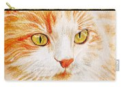 Kitty Kat Iphone Cases Smart Phones Cells And Mobile Cases Carole Spandau Cbs Art 344 Carry-all Pouch