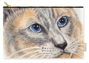 Kitty Kat Iphone Cases Smart Phones Cells And Mobile Cases Carole Spandau Cbs Art 346 Carry-all Pouch