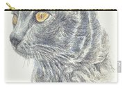 Kitty Kat Iphone Cases Smart Phones Cells And Mobile Cases Carole Spandau Cbs Art 347 Carry-all Pouch