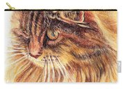 Kitty Kat Iphone Cases Smart Phones Cells And Mobile Cases Carole Spandau Cbs Art 352 Carry-all Pouch