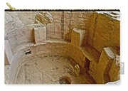 Kiva With Sipapu In Spruce Tree House On Chapin Mesa In Mesa Verde National Park-colorado Carry-all Pouch