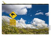 Kiwi Crossing Road Sign In Nz Carry-all Pouch