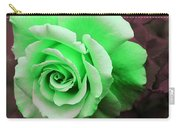 Kiwi Lime Rose Carry-all Pouch