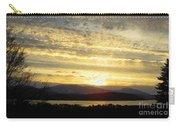 Klamath Lake Sunset Carry-all Pouch