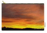 Klamath Sunset Of Fire Carry-all Pouch
