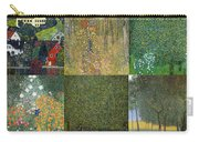 Klimt Landscapes Collage Carry-all Pouch