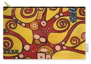 Klimt Study Tree Of Life Carry-all Pouch