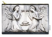 Kneeling Angels Monumental Cemetery Milan Italy Carry-all Pouch