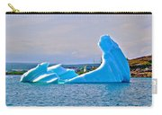 Kneeling Before The Queen Iceberg In Saint Anthony-newfoundland  Carry-all Pouch