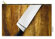 Knife On Chopping Board Carry-all Pouch