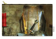 Knight - A Warriors Tribute  Carry-all Pouch by Paul Ward